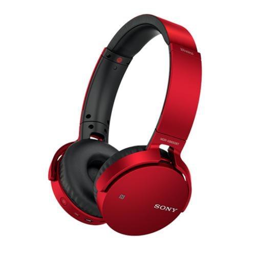 Slúchadlá Sony MDR-XB650BT bezdr.handsfr, červené MDRXB650BTR.CE7