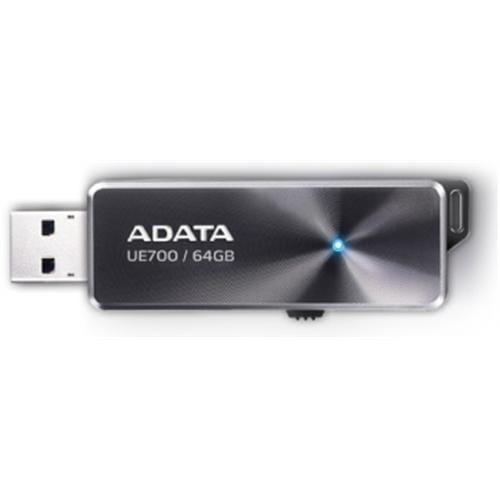 USB Kľúč 64GB ADATA UE700 čierny (USB 3.0) AUE700-64G-CBK