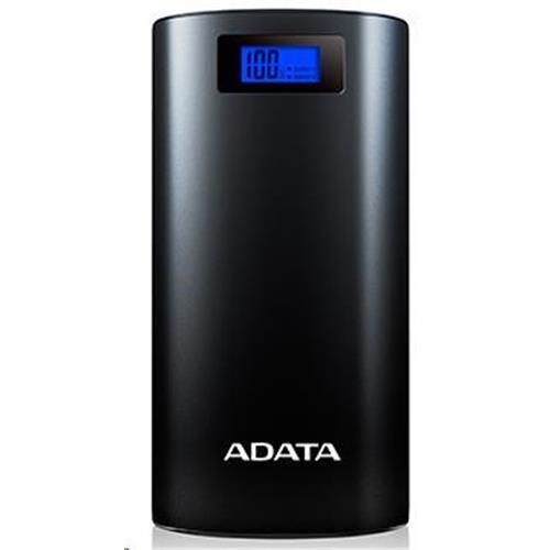 ADATA P20000D Power Bank 20000mAh čierna AP20000D-DGT-5V-CBK