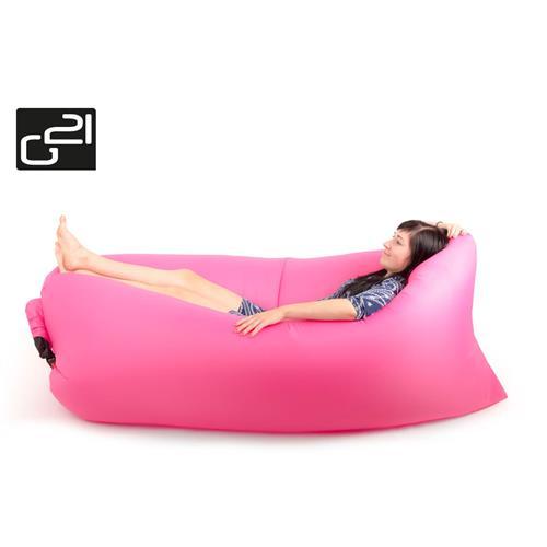 Nafukovací vak G21 Lazy Bag Pink G21-LZB-PI