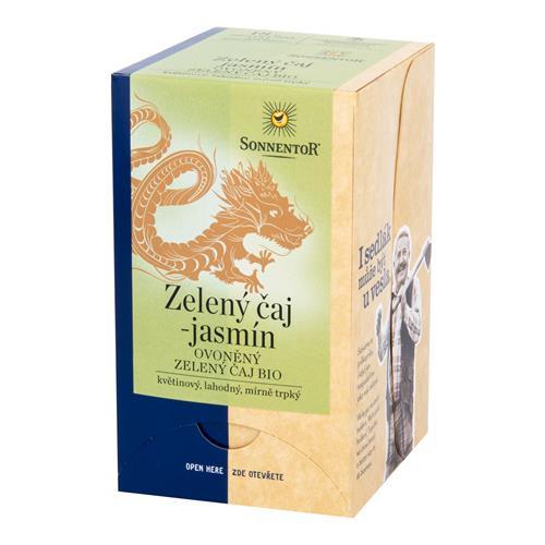 Čaj zelený s jazmínom 27 g BIO SONNENTOR 510008