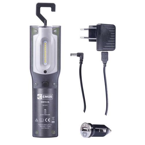 EMOS LED pracovné nabíjacie svietidlo 5W SMD + UV 1450000210