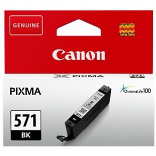 Kazeta CANON CLI-571BK black MG 5750/5751/6850/6851/7750/7751 0385C001