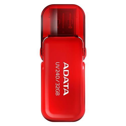 USB Kľúč 32GB ADATA UV240 USB red (vhodné pre potlač) AUV240-32G-RRD
