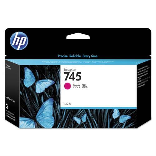 HP 745 130-ml Magenta Ink Cartridge F9J95A