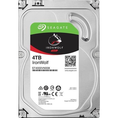 Pevný Disk Seagate IronWolf 4TB, 64MB, SATAIII, 5900rpm, NAS ST4000VN008