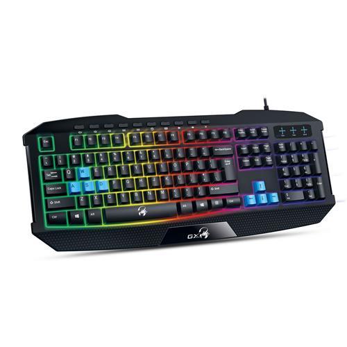 Herná klávesnica GENIUS K215 USB CZ+SK black 31310474106