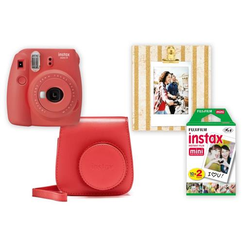 Fujifilm Instax BOX BIG Mini 9 POPPY RED 70100142654