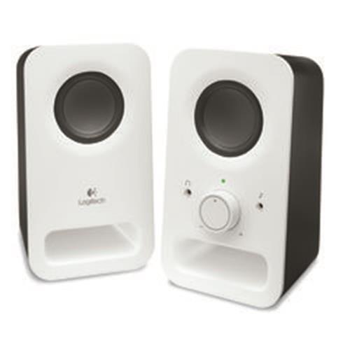 Reproduktory Logitech Z150 Multimedia Speaker 2.0, 6W, biele 980-000815
