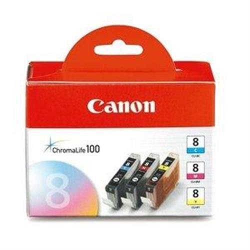 Kazeta CANON CLI-8 C/M/Y multi pack 0621B029