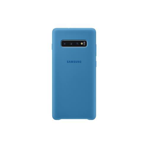 Samsung Silicone Cover S10+ Blue EF-PG975TLEGWW