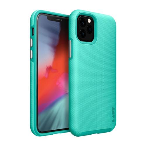 LAUT Shield – Case for iPhone 11 Pro Max, Mint LAUT-IP19L-SH-MT