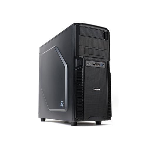 Skrinka Zalman MidTower Z1, mATX/ATX, bez zdroja, čierna