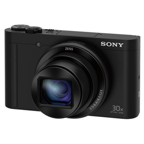 Fotoaparát Sony DSC-WX500, 18,2Mpix, 30xOZ, FullHD, WiFi, čierny DSCWX500B.CE3