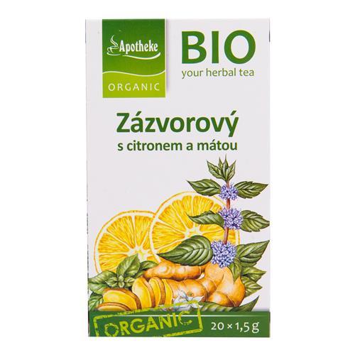 Čaj Zázvorový s citrónom a mätou 30 g BIO MEDIATE 510106