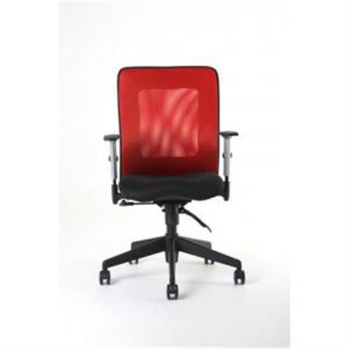 Kancelárska stolička CALYPSO červená OF141311