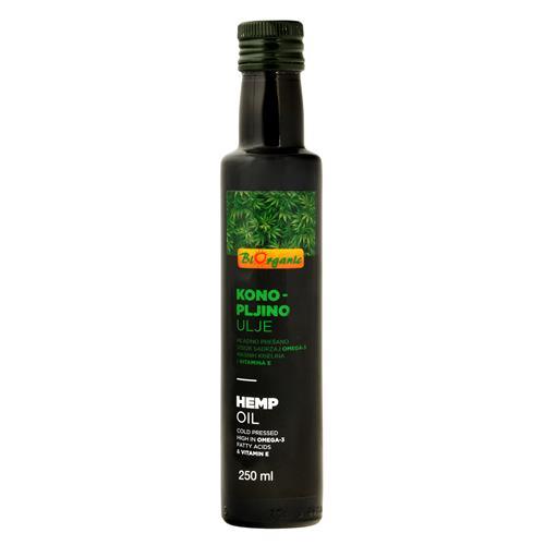 Olej konopný 250 ml BIO BIORGANIC 430049