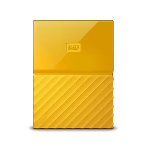 Ext. HDD WD My Passport 2TB, 2,5'', USB 3.0, žltý WDBS4B0020BYL-WESN