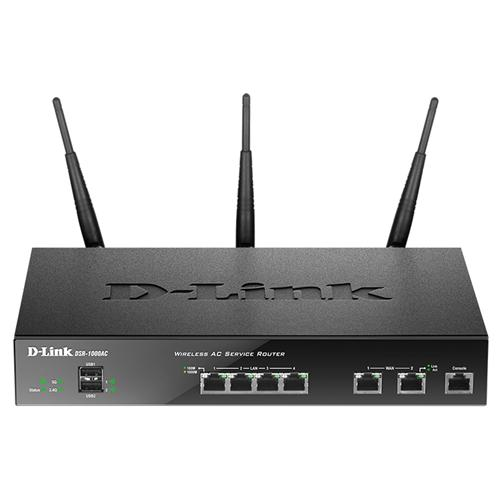 D Link DSR 1000AC Dual Band Unified Service Router