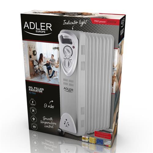 ADLER AD 7808, Olejový radiátor