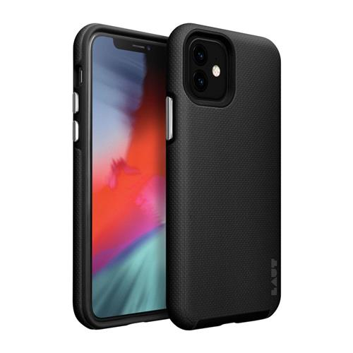 LAUT Shield – Case for iPhone 11, Black LAUT-IP19M-SH-BK