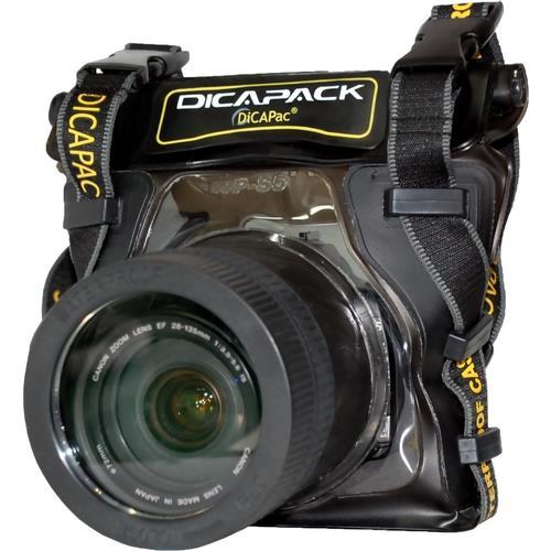 Podvodné puzdro DiCAPac WP-S5 pre digitálne zrkadlovky strednej veľkosti so zoomom
