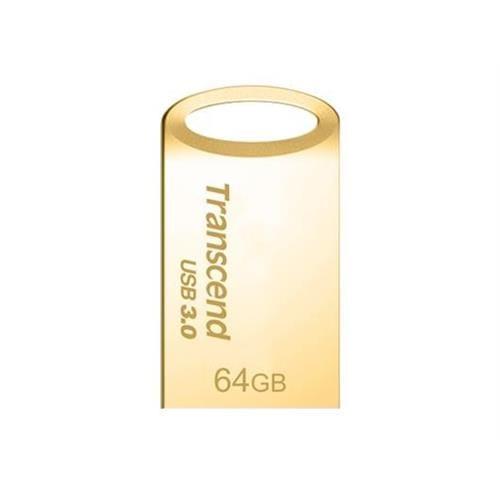 USB kľúč 64GB Transcend JetFlash 710G, zlatý, USB 3.0 TS64GJF710G