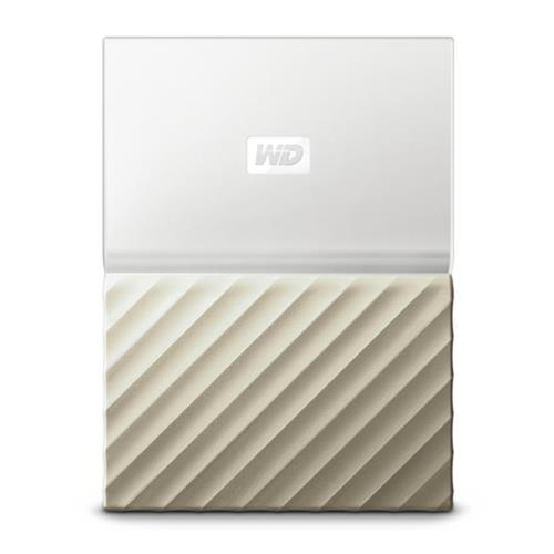 "WD My Passport ULTRA METAL 4TB Ext. 2.5"" USB3.0 White/Gold WDBFKT0040BGD-WESN"