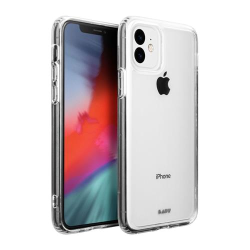 LAUT Crystal-X – Case for iPhone 11, Clear LAUT-IP19M-CX