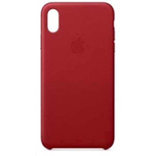 iPhone XS Max Leather Case - (PRODUCT)RED MRWQ2ZM/A