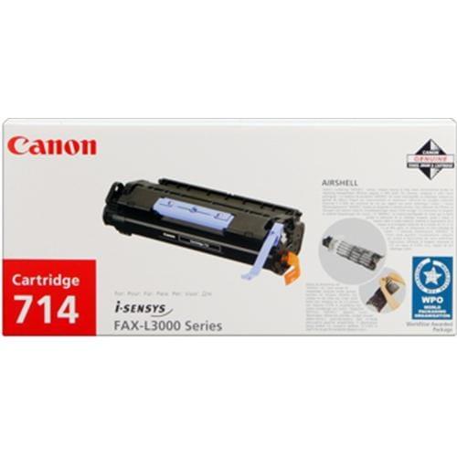 Toner CANON CRG-714 black Fax L3000/3000IP series 1153B002