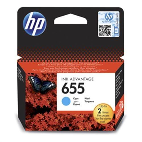 Kazeta HP CZ110AE No.655 Azúrová atramentová náplň