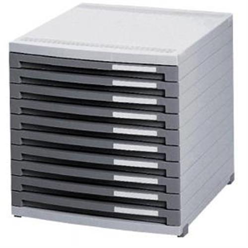 Zásuvkový box Contur 10 otvorený 25mm HA151001