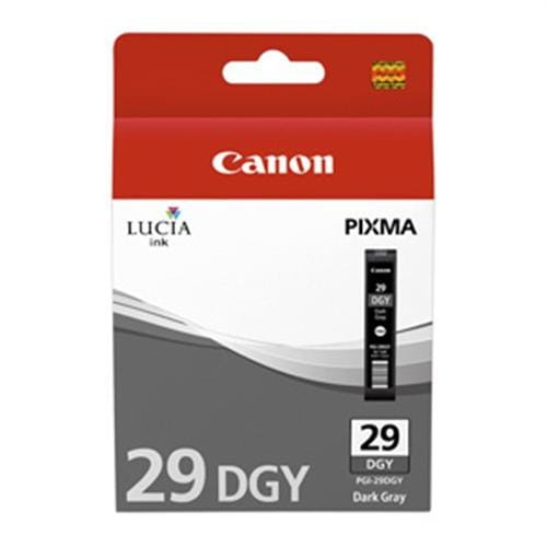 Kazeta CANON PGI-29DGY dark grey PIXMA Pro 1 4870B001