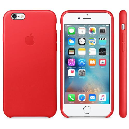 Apple iPhone 6S Leather Case (PRODUCT) RED MKXX2ZM/A