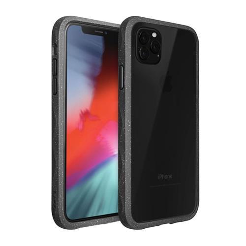 LAUT Crystal Matter – Impact Resistant Case for iPhone 11 Pro Max, Slate LAUT-IP19L-CM-BK