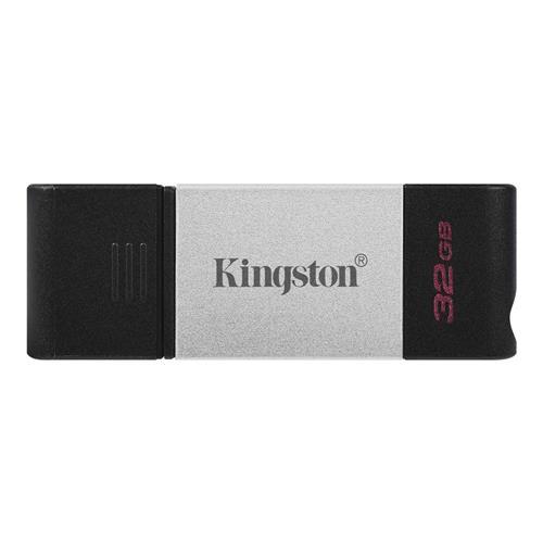 USB Kľúč 32GB Kingston DataTraveler 80, USB-C, 3.2 Gen 1 DT80/32GB