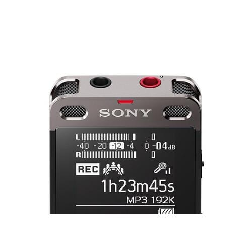 Sony dig. diktafón ICD-UX560, čierny, 4GB, USB, mSD ICDUX560B.CE7