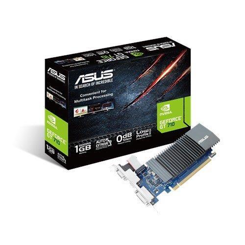 ASUS GT710-SL-1GD5-BRK, 1GB/32bit, GDDR5, D-Sub, DVI, HDMI, LP 90YV0AL2-M0NA00