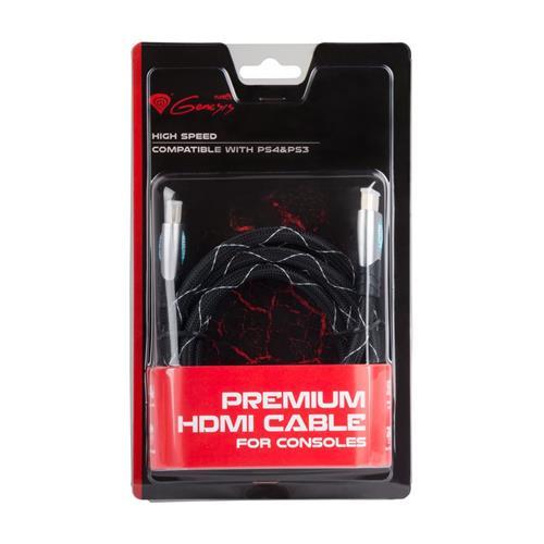 GENESIS Prémiový HDMI kábel pre PS4/PS3 1,8m NKA-0556