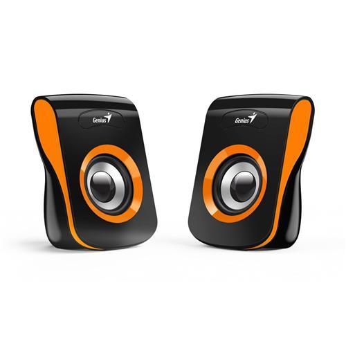 Speaker GENIUS SP-Q180, ORANGE, USB, 6W 31730026402