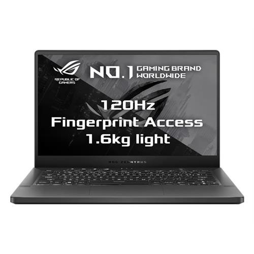 """ASUS ROG ZEPHYRUS G14 GA401II-HE003T AMD R7-4800HS 14"""" FHD matný GTX1650Ti/4G 16GB 512GB SSD WL BT W10 CS šedý;FPR"""