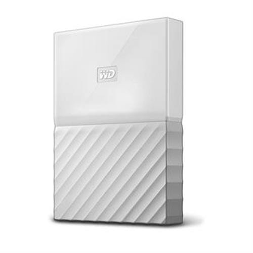 Ext. HDD WD My Passport 4TB, 2,5'', USB 3.0, biely WDBYFT0040BWT-WESN