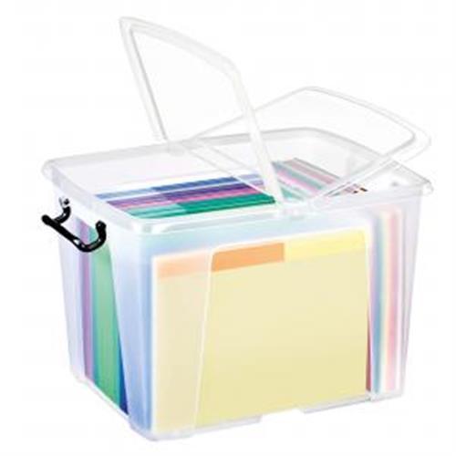 CEP Plastový box s vekom 40l CP740110