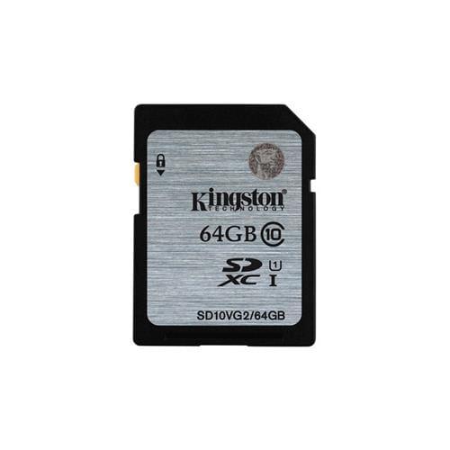 Kingston 64GB SDXC UHS-I class 10 čítanie 45MB/s SD10VG2/64GB