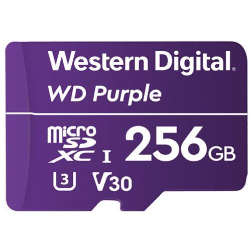 WD Purple microSDXC 256GB 100MB/s U3 WDD256G1P0A