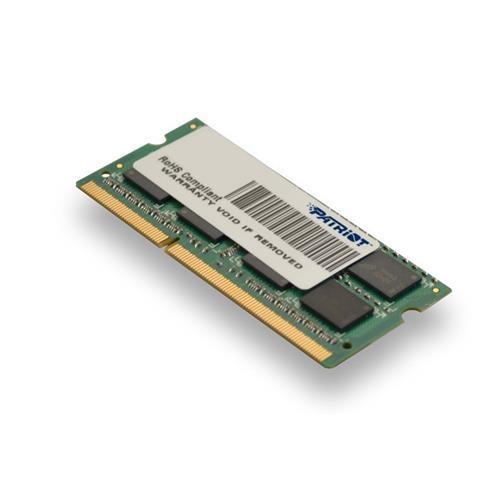 Patriot 4GB SO-DIMM DDR3-1333MHz 1,35V DR PSD34G1333L2S