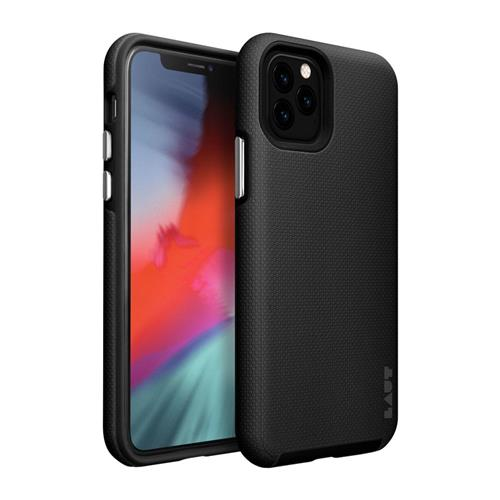 LAUT Shield – Case for iPhone 11 Pro, Black LAUT-IP19S-SH-BK
