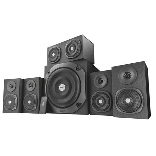 Zvuk. systém TRUST Vigor 5.1 Surround Speaker System for PC - Black 22236