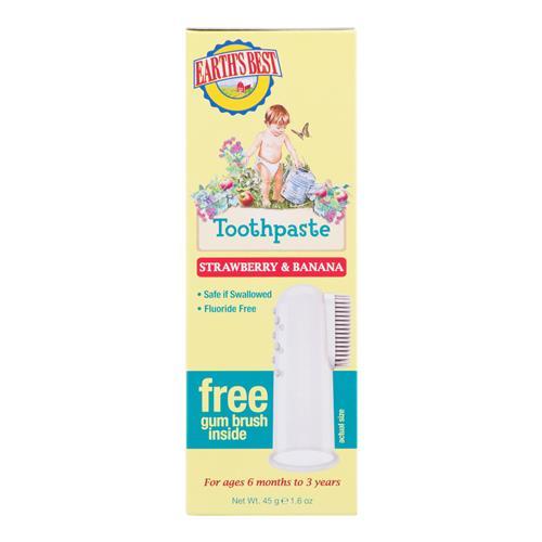 E.B. Zubná pasta pre deti od 6 mesiacov so zubnou kefkou 45 g JASON 940008